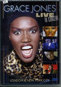 Cover Grace Jones - Live in Concert - London & New York City [DVD]